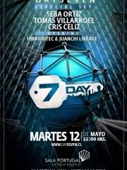 Day Seven presenta @ Seba Ortiz/Tomas Villarroel/Cris Celiz