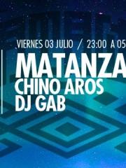 """Mantanza (Extended Journey) feat Chino Aros (Sitar) Dj Gab, """"intervenciones y streaming"""" en MAMBA"""