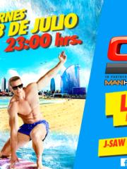 CIRCUIT FESTIVAL PRE-PARTY SANTIAGO ● DJ Lydia Sanz ● 3 de Julio ● Por primera vez en Chile!