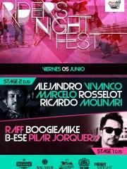 """Riders Night Fest """"tablas en la ciudad"""" 05-06-2015"""