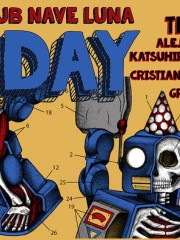 THE RIPPED – TECHNO B-DAY
