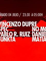 Vincenzo Dupre, Spec, Pablo R. Ruiz, Funkta, No Model, Daniel Klauser y Matías Rivera en MAMBA, Despedida de Daniel Kluaser