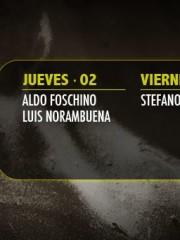 ~ Cartelera Semanal en Club La Feria ~ Noferini, Vivanco, Norambuena, Pöll, Inzunza, Galleguillos, Chiang, Martínez.