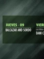 ~ Cartelera Semanal en Club La Feria ~ Balcazar & Sordo, Dani Casarano, Alejandro Vivanco, Tomás Villarroel