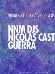 NNM djs, Nicolas Castro y Guerra Live en MAMBA