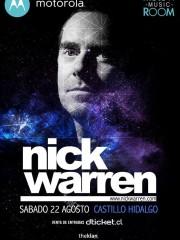 Nick Warren @ Moto x Music Room, Santiago
