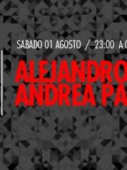 Alejandro Paz & Andrea Paz en MAMBA