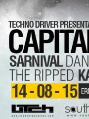 MAÑANA!!! CAPITAL TECHNO vol1 // Sarnival – The Ripped – Katsuhiro – Daniel Parra