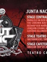 "CORONA presenta IT`S ABOUT MUSIC / Love & Respect ""JUNTA NACIONAL"" / 3 PISTAS + 8 HRS DE MUSICA + 25 DJS EN ESCENA @ TEATRO CAUPOLICAN"