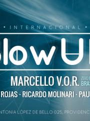 Jueves 08 Octubre @BlowUp INTERNACIONAL ◆MARCELLO V.O.R (Brasil)◆NACHO ROJAS ◆RICARDO MOLINARI ◆PAUL MODE ◆