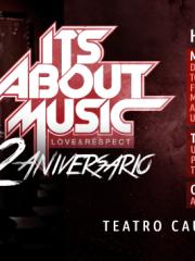 "CORONA presenta IT`S ABOUT MUSIC / Love & Respect "" 2 ANIVERSARIO "" / 3 PISTAS + 8 HRS DE MUSICA + 25 DJS EN ESCENA @ TEATRO CAUPOLICAN"