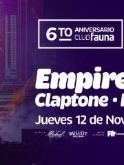 6to Aniversario Club Fauna con Empire of the Sun, Felix Da Housecat y Claptone