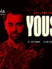 MOTOROLA presenta ♫ HALLOWEEN NIGHT w/ YOUSEF ♫ – SÁBADO 31 DE OCTUBRE – C