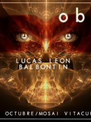 "★ OBSESSION presenta: ""deep room"" ·LUCAS LEON · BALBONTIN · IGNACIO AGUIRRE· SEBASTIAN ORTIZ · NICOLAS FERRADA · CUCHO GANA · /29 OCTU"