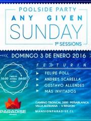 Any Given Sunday @ Mansion Paradise