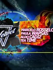 Micro Club Paula Wapsas / Aldo Cadiz / Marcelo Rosselot & Tea Time (Los Tetas).