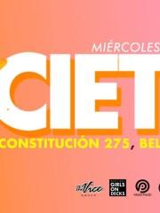 SOCIETY · Miér 03 √ Confirmados y Listas GRATIS – Constitución 275, Bellavista