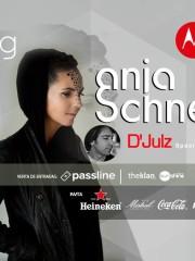 MOTOROLA presenta ♫ ANJA SCHNEIDER + D'JULZ EN CHILE ♫ 99's – VIERNES 19 DE FEBRERO / CLUB DEL SOL SUNSHINE – 21:00