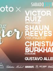 MOTOROLA presenta ♫ VICTOR RUIZ ♫ VISIONQUEST shaun reeves ♫ CHRISTIAN BURKHARDT EN CHILE ♫ SABADO 27 DE FEBRERO MUELLE BARON 21:00