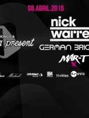 NICK WARREN, GERMAN BRIGANTE y MART – AMNESIA IBIZA CHILE