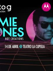 JAMIE JONES en Chile TEATRO LA CUPULA
