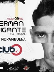 Cerveza Sol presenta a ✪ GERMAN BRIGANTE ✪ 09 de Abril ✪ Club O