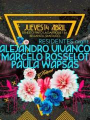 VELVET ★ Alejandro Vivanco ! Marcelo Rosselot ! Paula Wapsas ★ Jueves 14