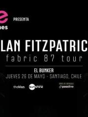 LENOVO VIBE presenta: ♫ ALAN FITZPATRICK fabric 87 tour ♫ JUEVES 26 DE MAYO / EL BUNKER – 21:00