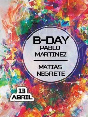Colours Club@Subterraneo Pablo Martinez – Matias Negrete B-day