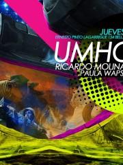 CLUBBER & VELVET presentan ★ UMHO / Paula Wapsas b2b Ricardo Molinari ★ Jueves 28 ★ MicroClub