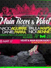 Mainroom Radioshow & Velvet presentan :: Main Room Hits :: Jueves 05 de Mayo