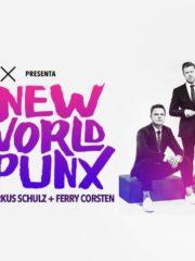 MOTO X presenta ♫♫ NEW WORLD PUNX (Ferry Corsten + Markus Schulz) ♫♫ SÁBADO 13 DE AGOSTO / Teatro Caupolican