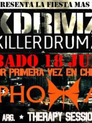 SANTIAGO DRUM N BASS PRESENTA: KILLERDRUMZ CHILE