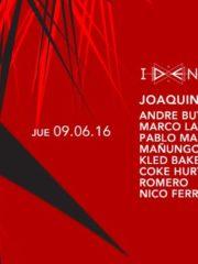 Identity presenta Joaquín Chiang B-DAY en Club La Feria ~ Jueves 09 de Junio