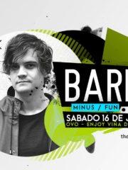 MOTO X presenta: ♫ Barem ♫ Sábado 16 de Julio / OVO – Enjoy Viña del mar – 21:00