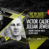 MOTO X presenta: ♫ Julian Jeweil + Victor Calderone ♫ Viernes 29 de Julio / Teatro Caupolican – 21:00