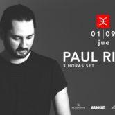 Budweiser & La Feria presentan: Paul Ritch – Jueves 1 de Septiembre