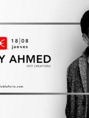 Budweiser & La Feria presentan: Richy Ahmed – Jueves 18 de Agosto