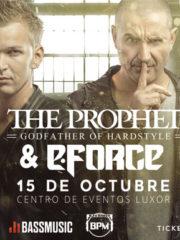 THE PROPHET  y E FORCE en Chile Hardstyle