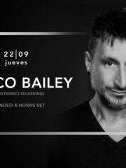 Budweiser & La Feria presentan: Marco Bailey Extended SET 4 HORAS – Jueves 22 de Septiembre