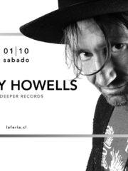 La Feria presenta: Danny Howells – Sábado 1 de Octubre