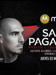 MOTO Z presenta ♫ Sam Paganini ♫ 03/11/2016 – Teatro Cariola