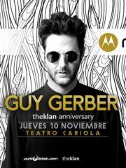 MOTO Z presenta ♫ Guy Gerber ♫ 10/11/2016 – Teatro Cariola –