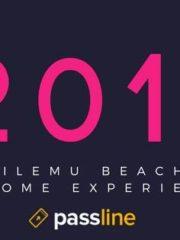 Pichilemu Beach @ Party New Year 2017// Dome experience.