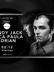 BudLab: Dandy Jack, Chica Paula, Adrian – La Feria – Vie 02.12