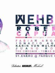 Day & Night Party w/ Wehbba / 01 Enero / Piscina P. Cachagua
