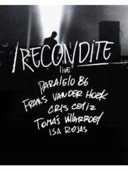 Recondite live ♫ / Viernes 06 de Enero / Parque Cachagua – 19:00