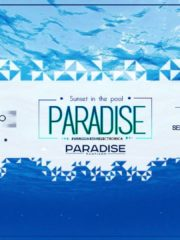 Paradise Santiago – Sunset in the Pool