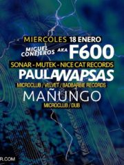 Velvet @ F600/ Paula Wapsas / Mañungo