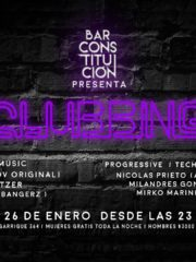BarConstitución presenta #Clubbing Mujeres free all night! 26/01